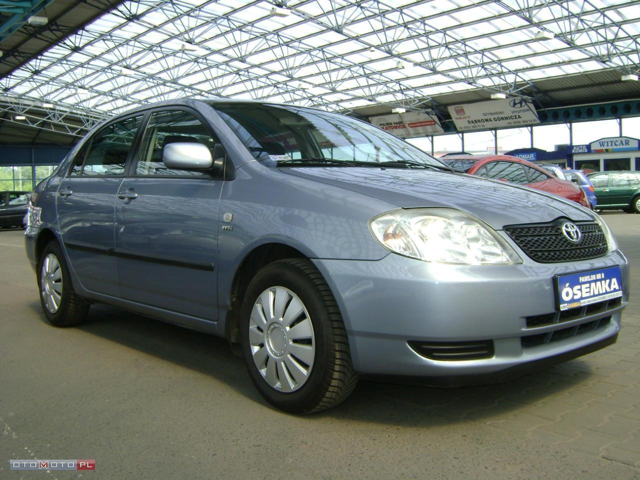 Toyota Corolla 1.6 VVTi,SALONOWA,SERWISOWANA