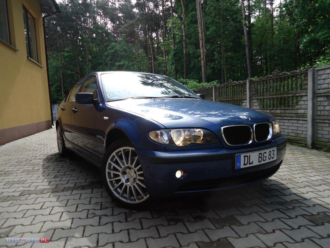 BMW 318 TOTALNA IGŁA! NIEMIEC! SERWIS!