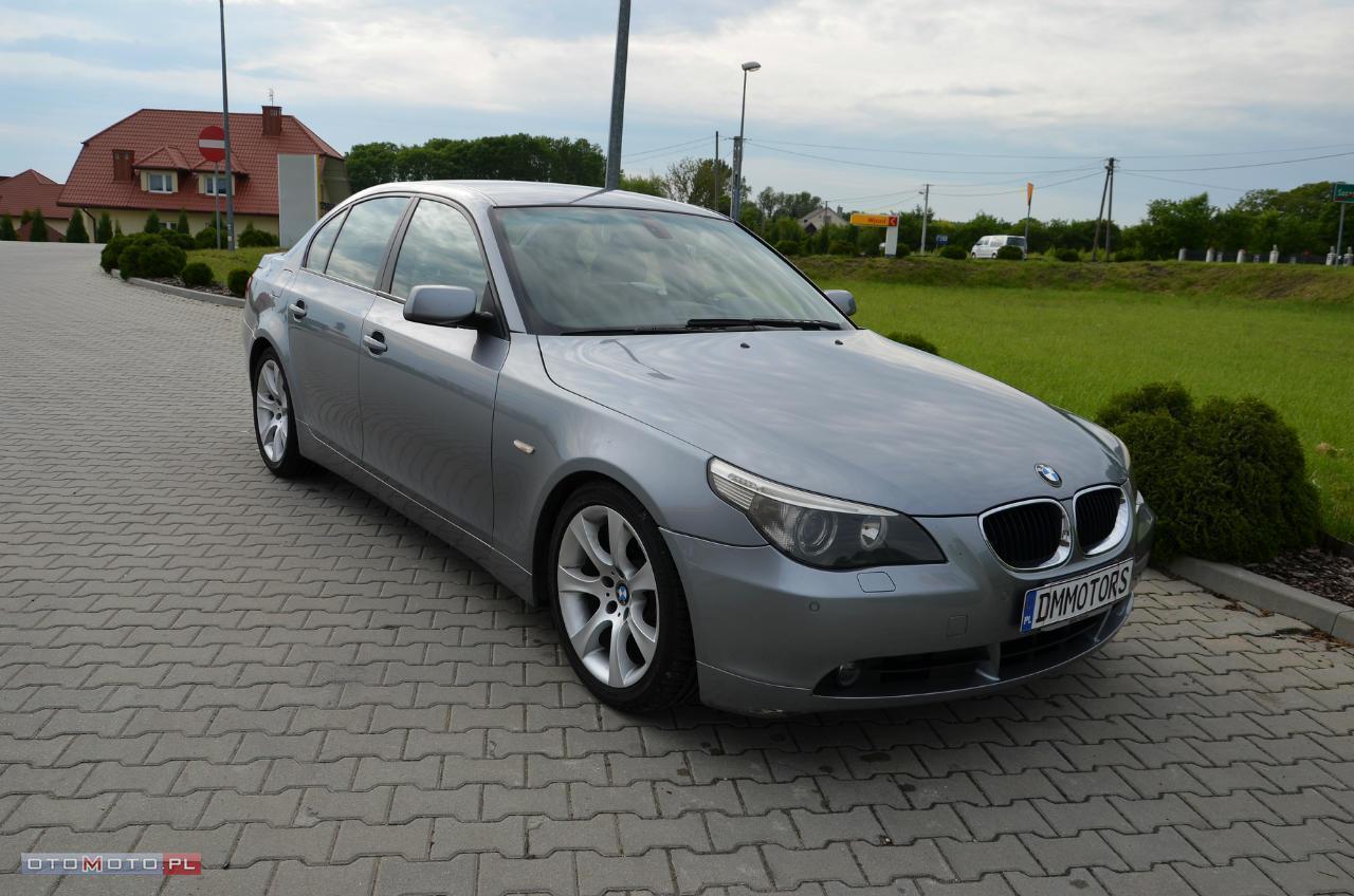 BMW 530 3.0d SERIWS BEZWYP. ZADBANY