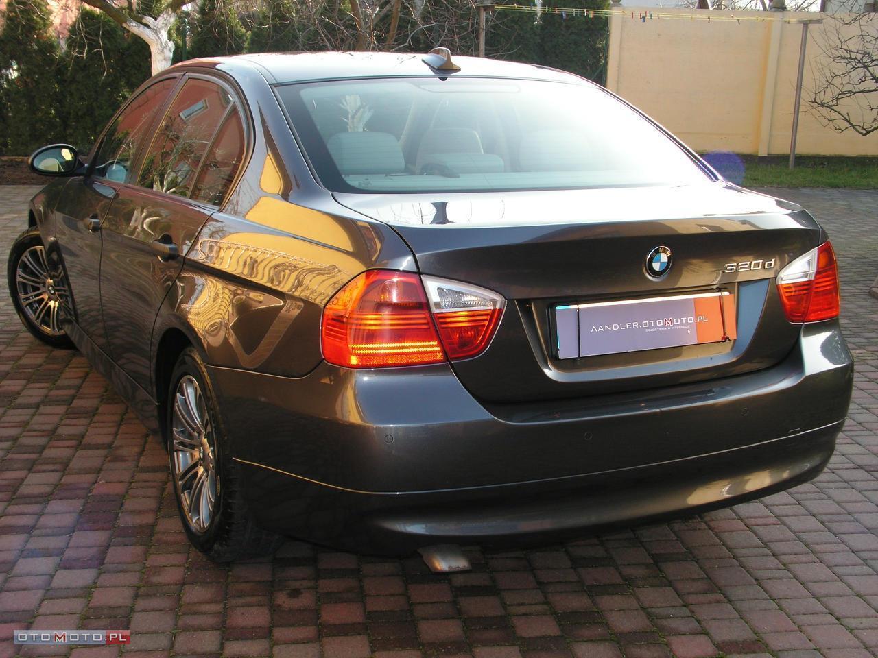 BMW 320 2.0d STAN IDEALNY GARAŻOWANY
