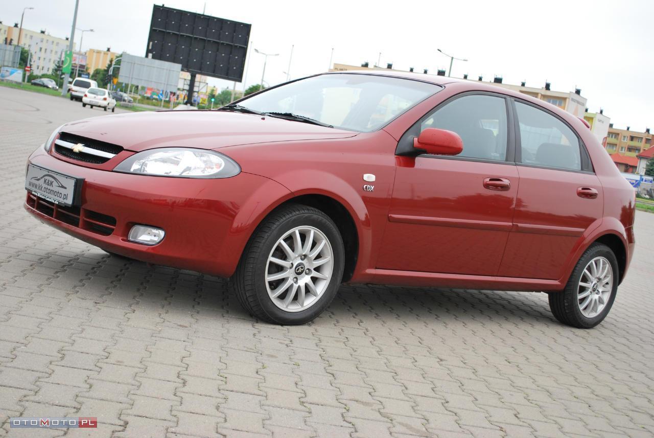 Chevrolet Lacetti KLIMATRONIK MAX OPCJA JAK NOWA