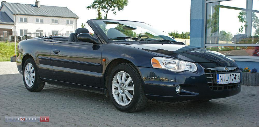 Chrysler Sebring 141KM 2.0 16V 2003/04 ZAREJES.