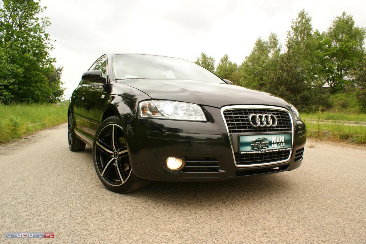 Audi A3 NAVI KOLOR*LEDY*BIXENON*1,9TDI