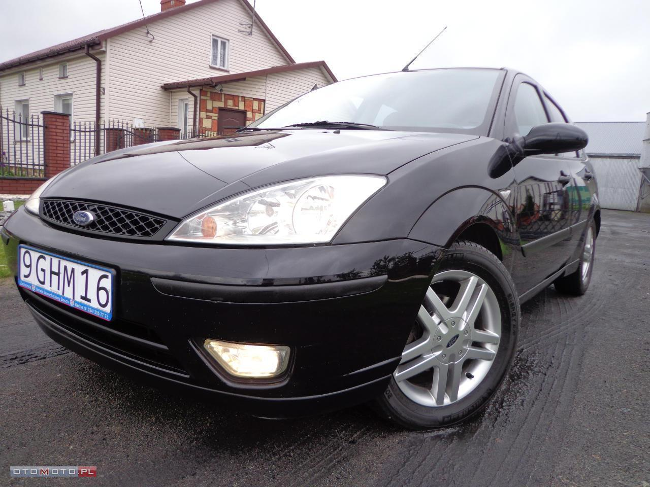 Ford Focus CZARNY ! ALUS ! KLIMA ! SUPER