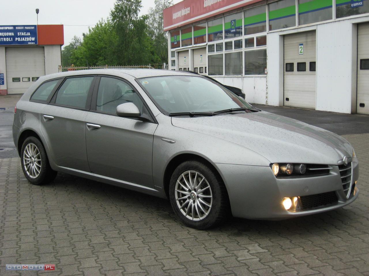 Alfa Romeo 159 1.9JTD 150KM SKÓRA NAWI ŁADNA