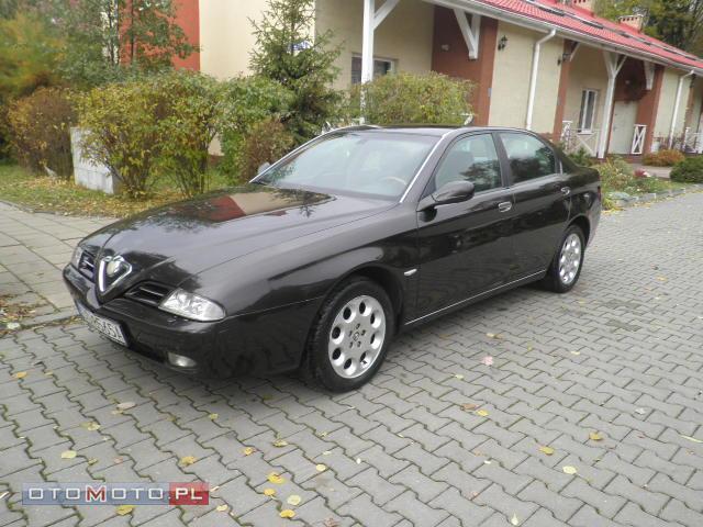 Alfa Romeo 166 Zarejestrowany