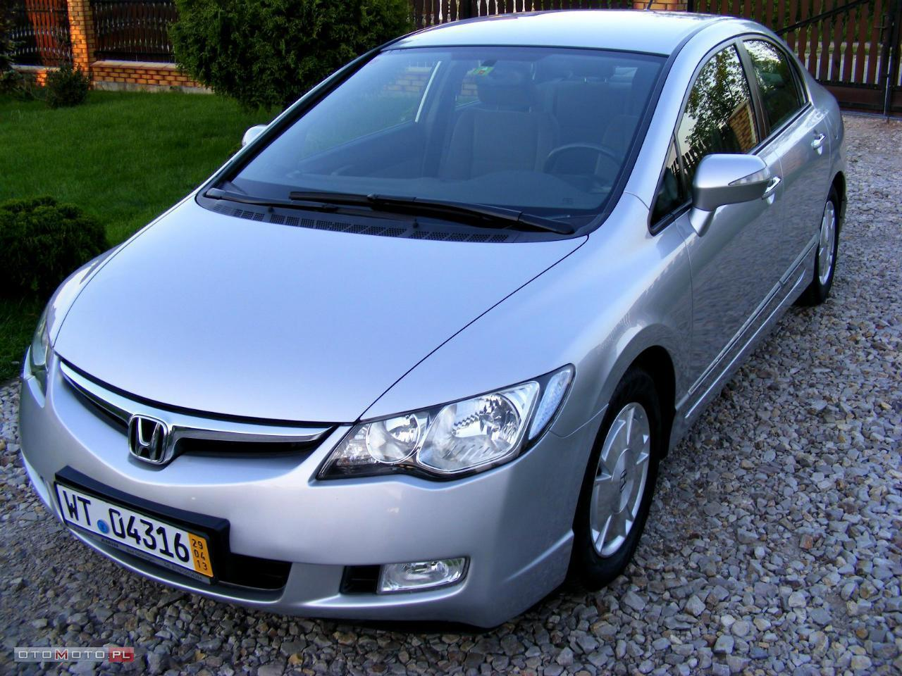 Honda Civic 1,3 ze Szwajcarii