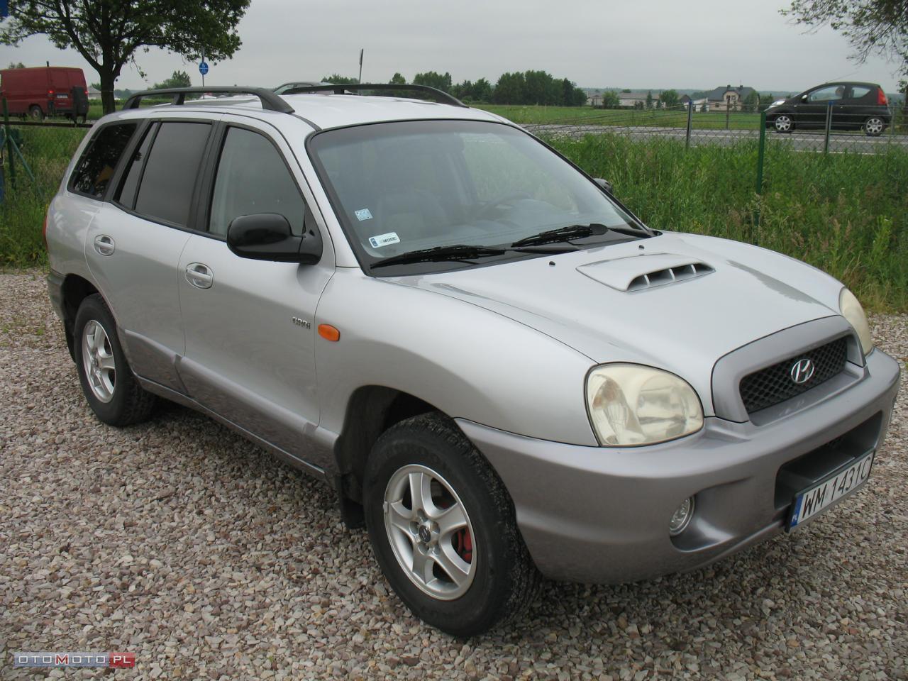 Hyundai Santa Fe ZAREJESTROWANY IGŁA