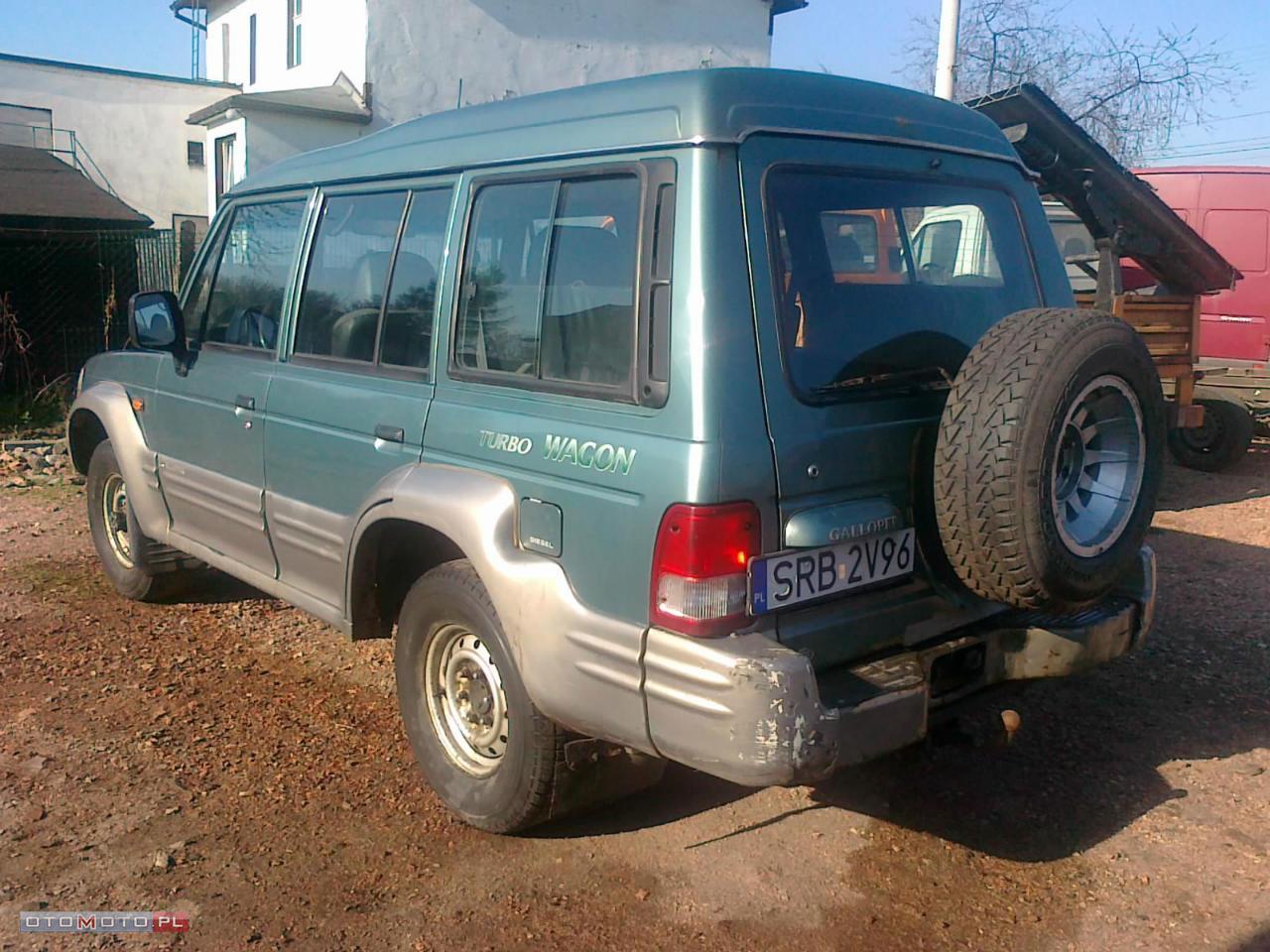 Hyundai Galloper 4x4 4wd 2.5 diesel 3 tony hak