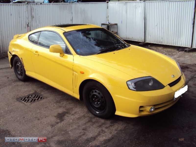 Hyundai Coupe TIBURON V6 168 PS SKÓRA ANGLIK