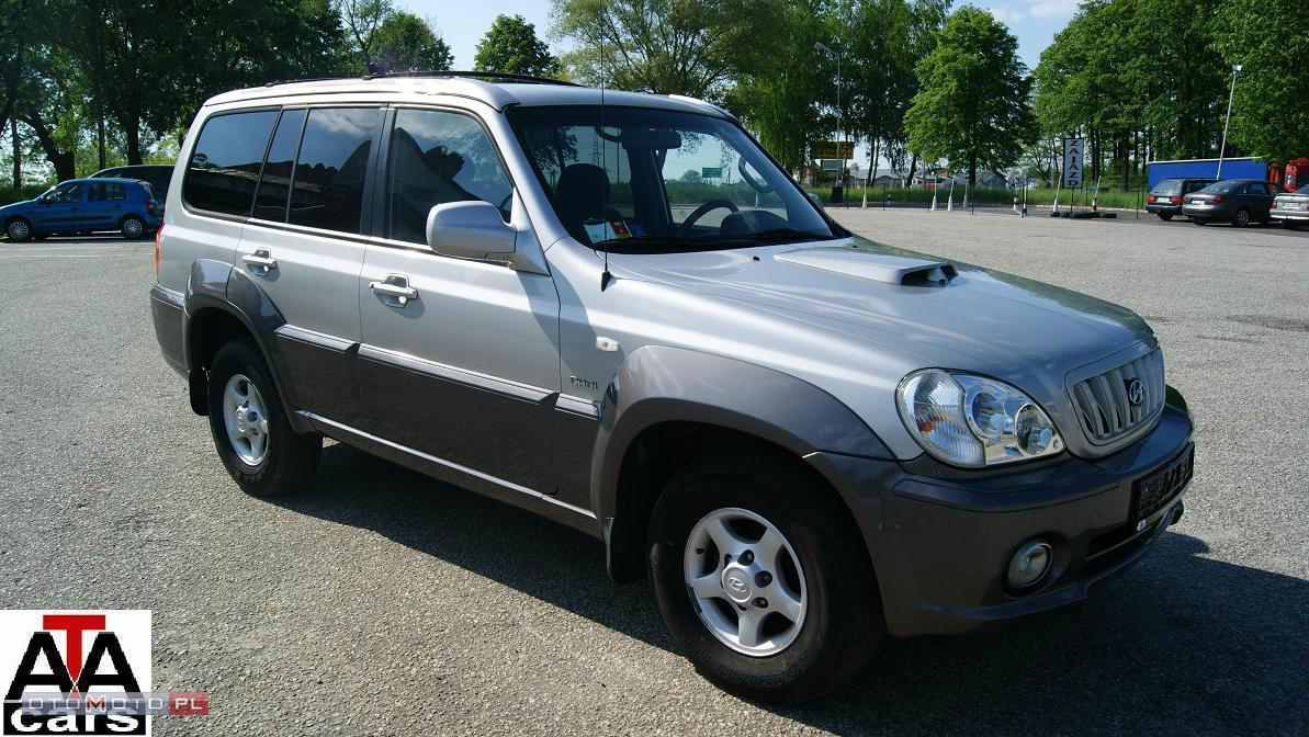 Hyundai Terracan 2,9 CRDi 150KM 4x4 KLIMA