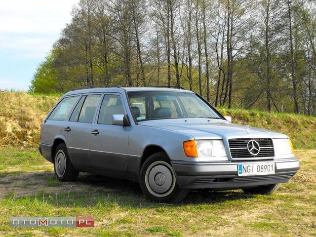 Mercedes-Benz W124 do negocjacji