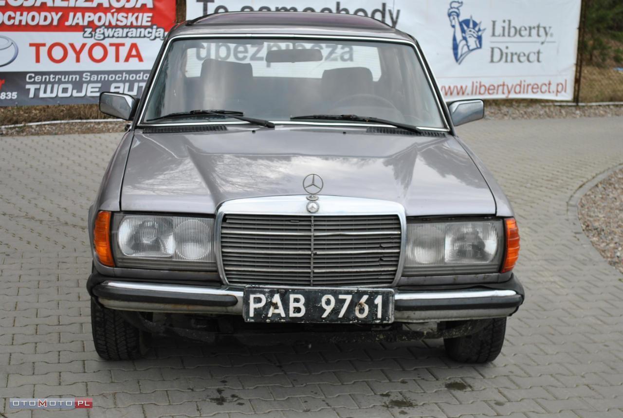 Mercedes-Benz W123 UCZCIWY STAN* PALI NA DOTYK!!