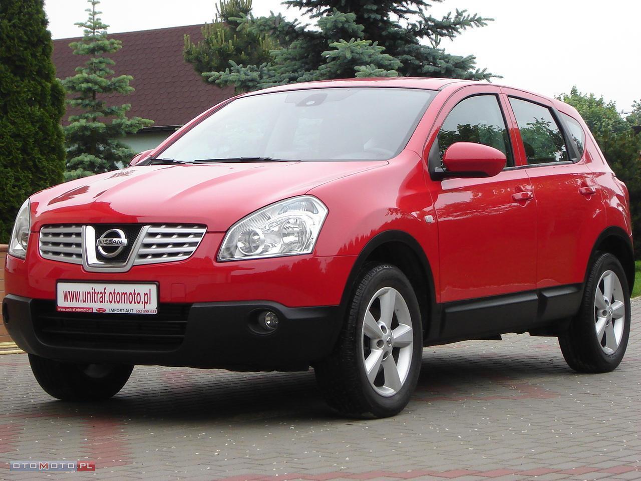 Nissan Qashqai 150 KM 4 X 4 KAM COFANIA NAVI