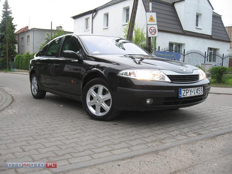Renault Laguna **CZARNA**ZAREJESTROWANA