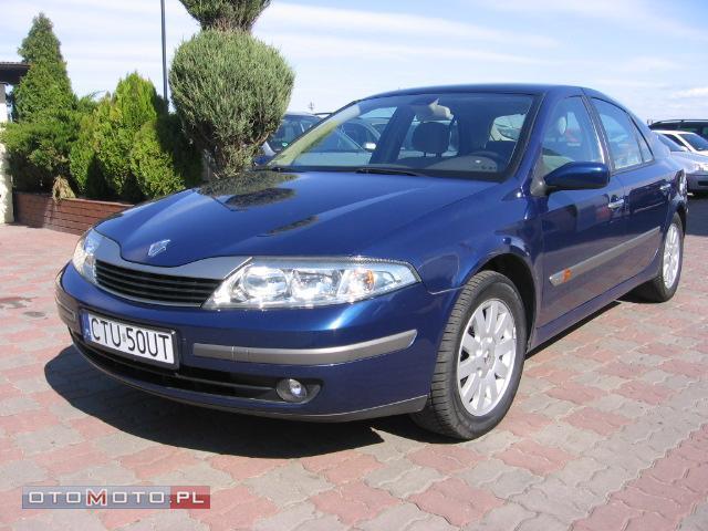 Renault Laguna INSTALACJA GAZOWA