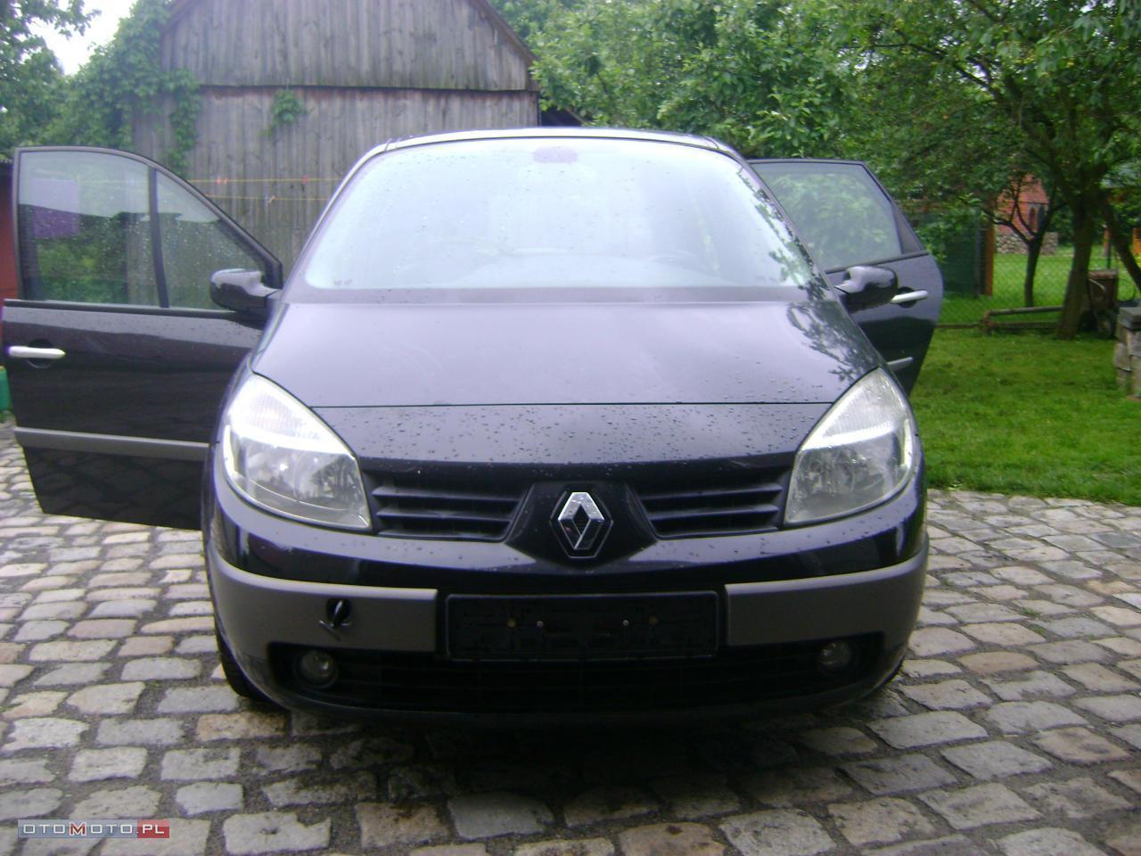 Renault Scenic USZKODZONY SILNIK