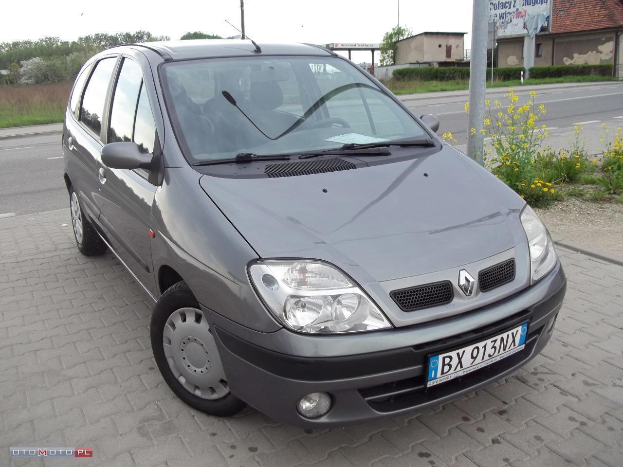 Renault Scenic 1.9DCI/KLIMA/ŁADNY/ZADBANY/