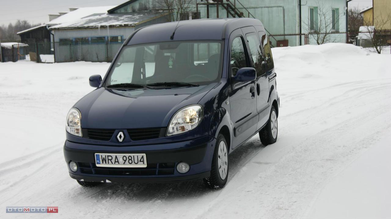 Renault Kangoo ZADBANY-KLIMATYZACJA!!!