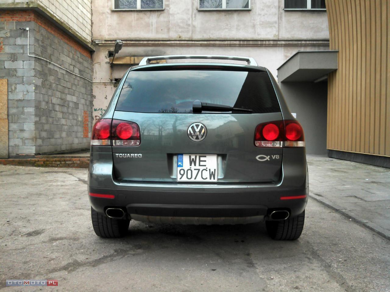 Volkswagen Touareg pneumatyka