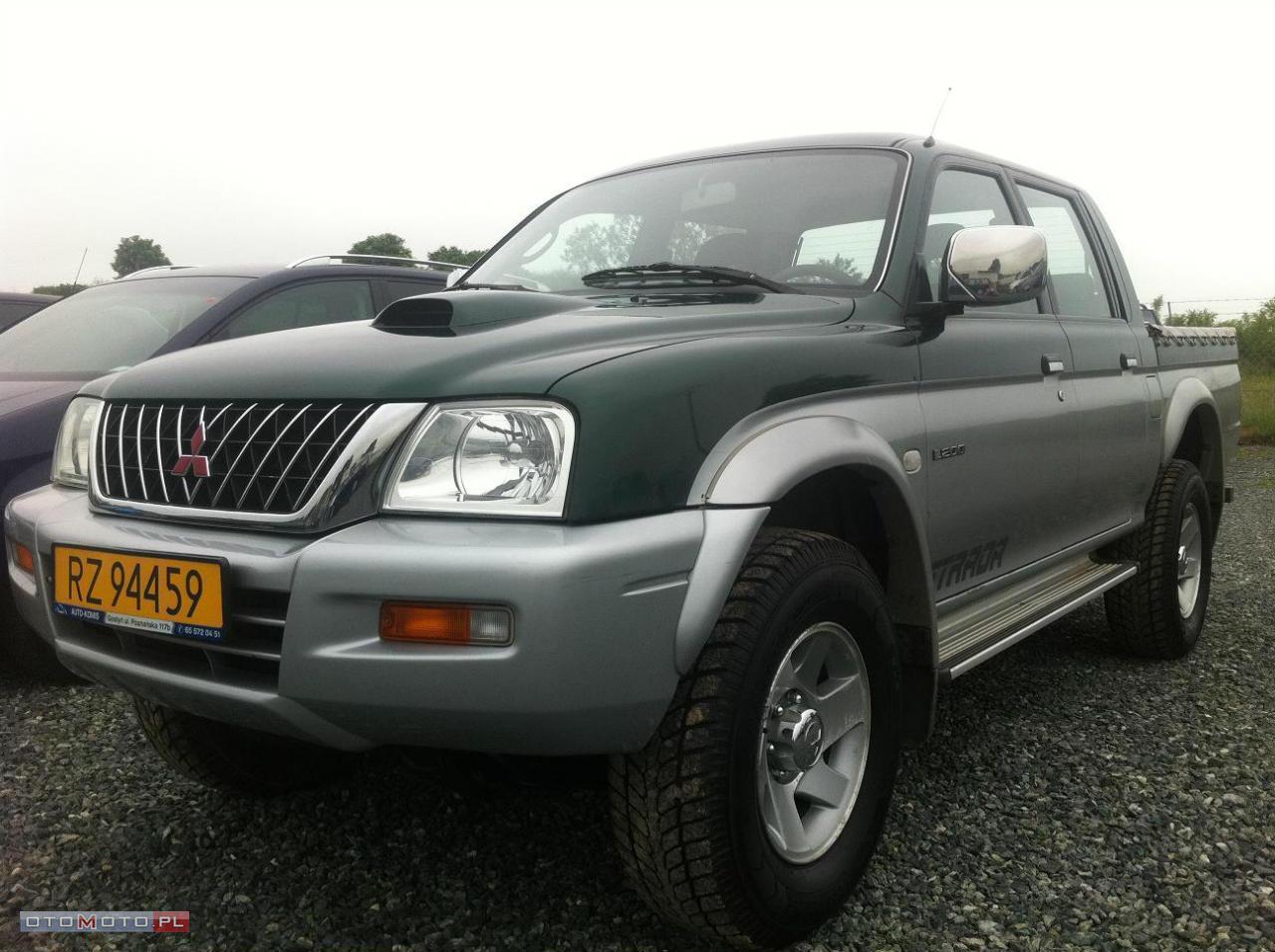 Mitsubishi L200 2,5 TDI BARDZO ŁADNY ZOBACZ